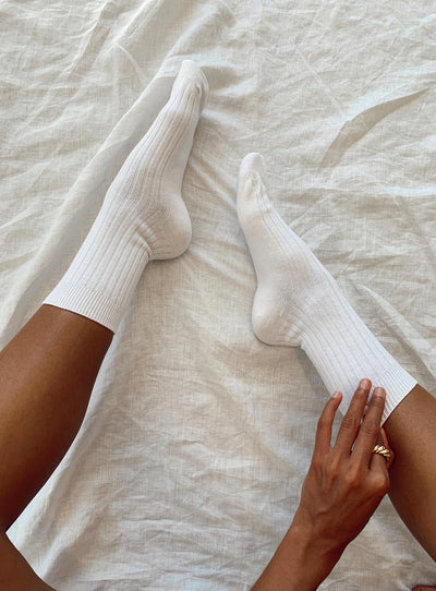 Sports Crew Ribbed Sock