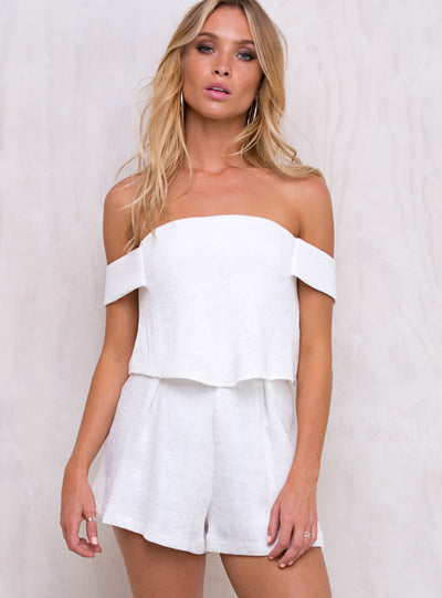 Wynonna Off The Shoulder Romper