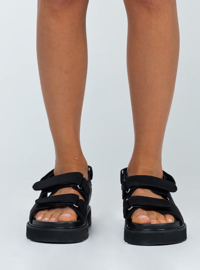 Rue Chunky Nylon Sandals