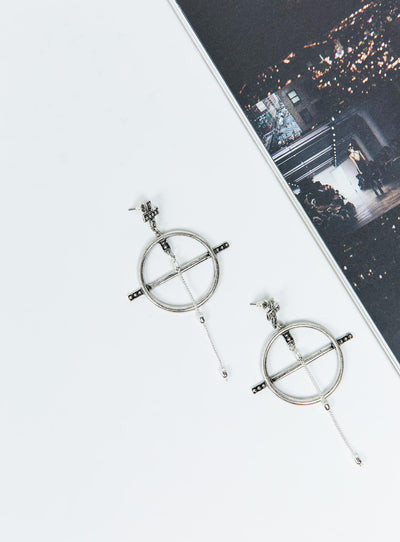 Minc Collections Silver Sun Kissed Earrings