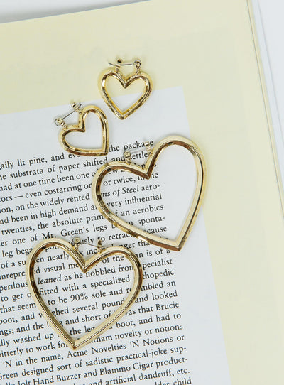 Yours & Mine Heart Hoop Set