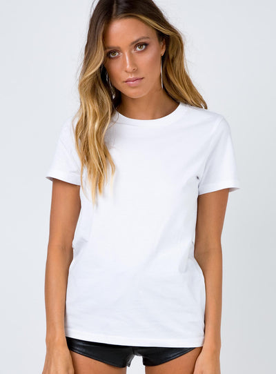 AS Colour Maple Tee White