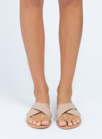 Billini Nude Pebble Majorca Slides