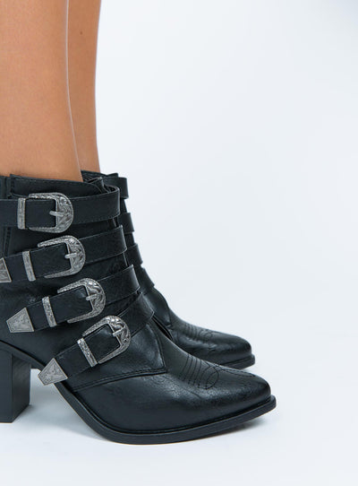 Therapy Black Bexar Boots