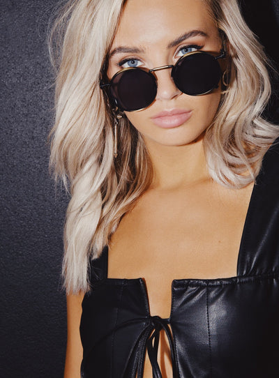 Frankie Moon Sunglasses Black
