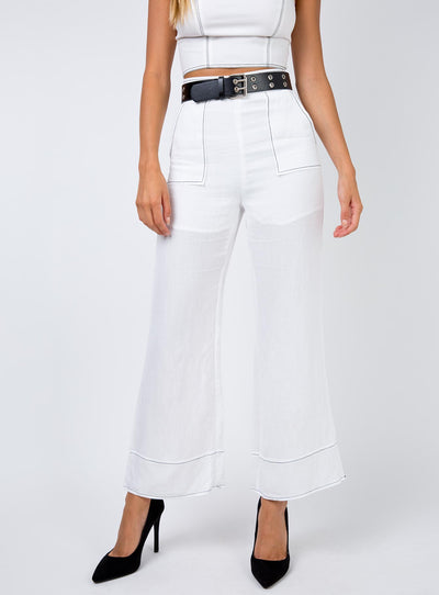 Fresh Queen Pants White