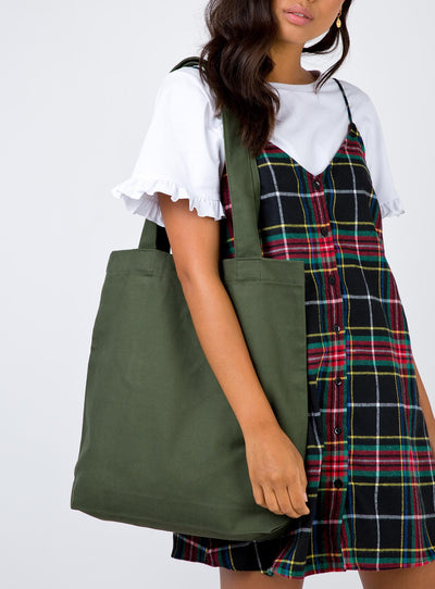 AS Colour Carrie Tote Army