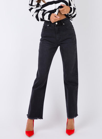 Rolla's Black Stone Original Straight Jeans