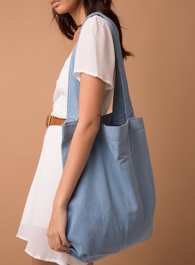 AS Colour Carrie Tote Denim