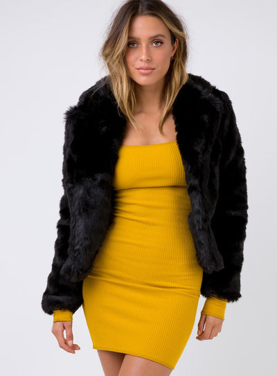Roxbury Manor Faux Fur Jacket