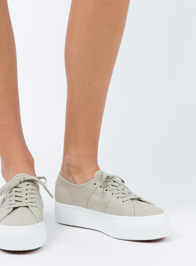 Superga Acotw Linea Up And Down Taupe