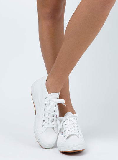 Superga Cotu Mid White