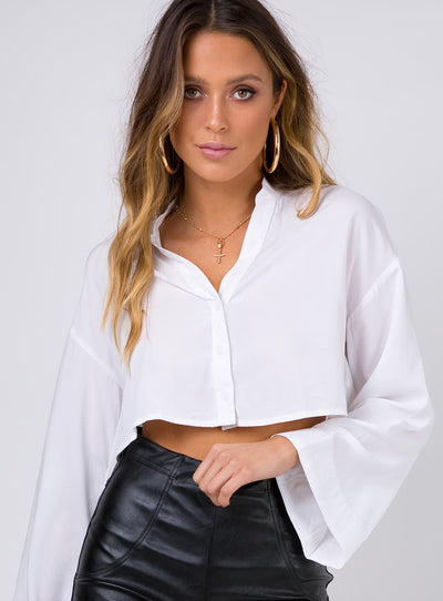 Ziggy Cropped Blouse