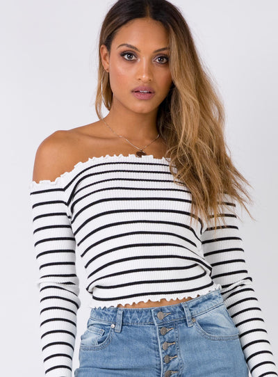 Rio Rendezvous Off The Shoulder Top