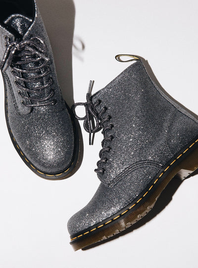 Dr. Martens 1460 Pascal Glitter Pewter