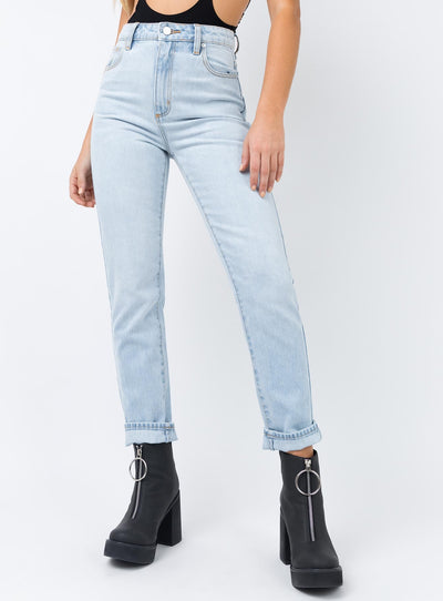 Abrand A 94' High Slim Jeans Popsicle