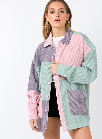 Lazy Oaf Corduroy Workers Jacket