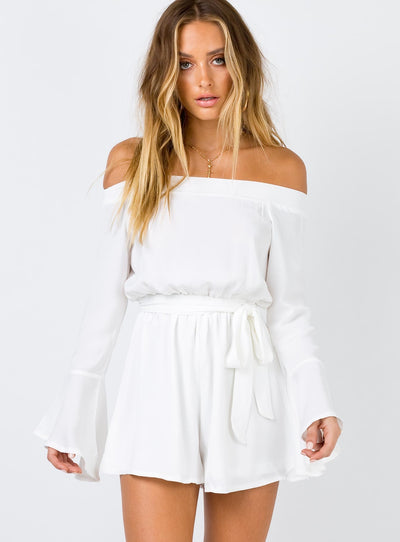 Marsanne Off The Shoulder Playsuit