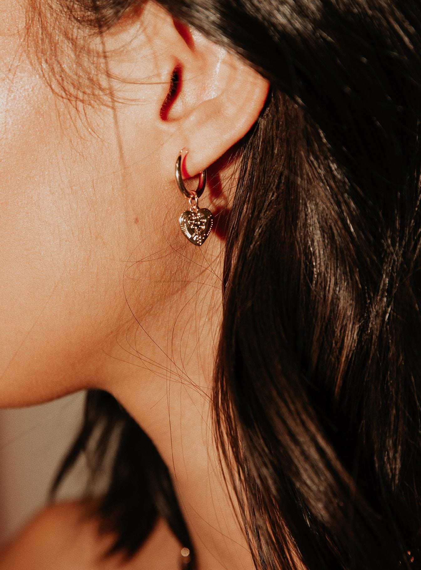 The Louella Hoop Earrings