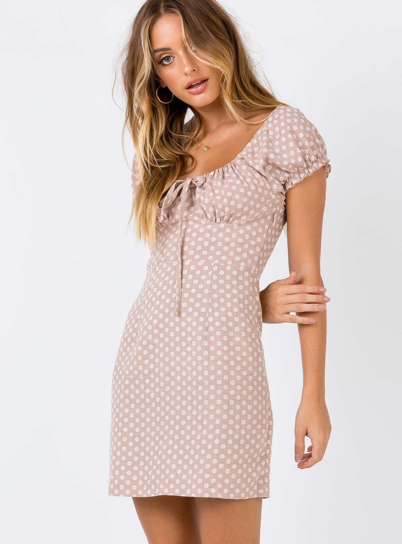 Cleo Mini Dress by Princess Polly