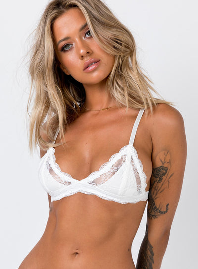 Washington Bralette White