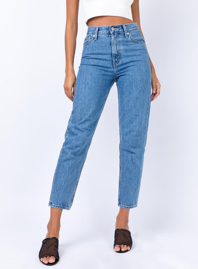 Levis Beverly Hills Mom Jeans