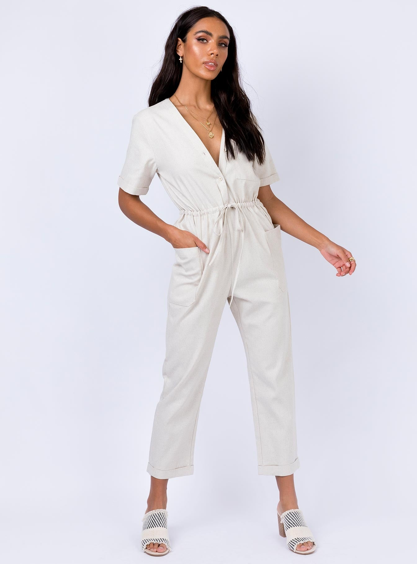 Mercieca Jumpsuit by Princess Polly