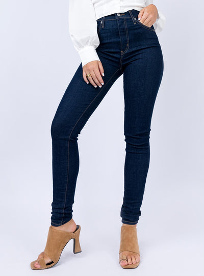 Levi's Mile High Super Skinny Upgrade