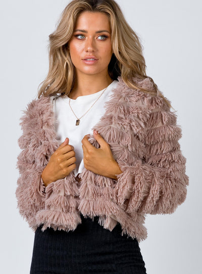 Frazier Jacket Blush