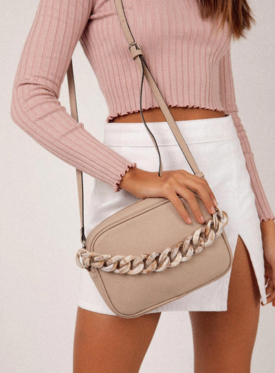Linked Up Bag Beige