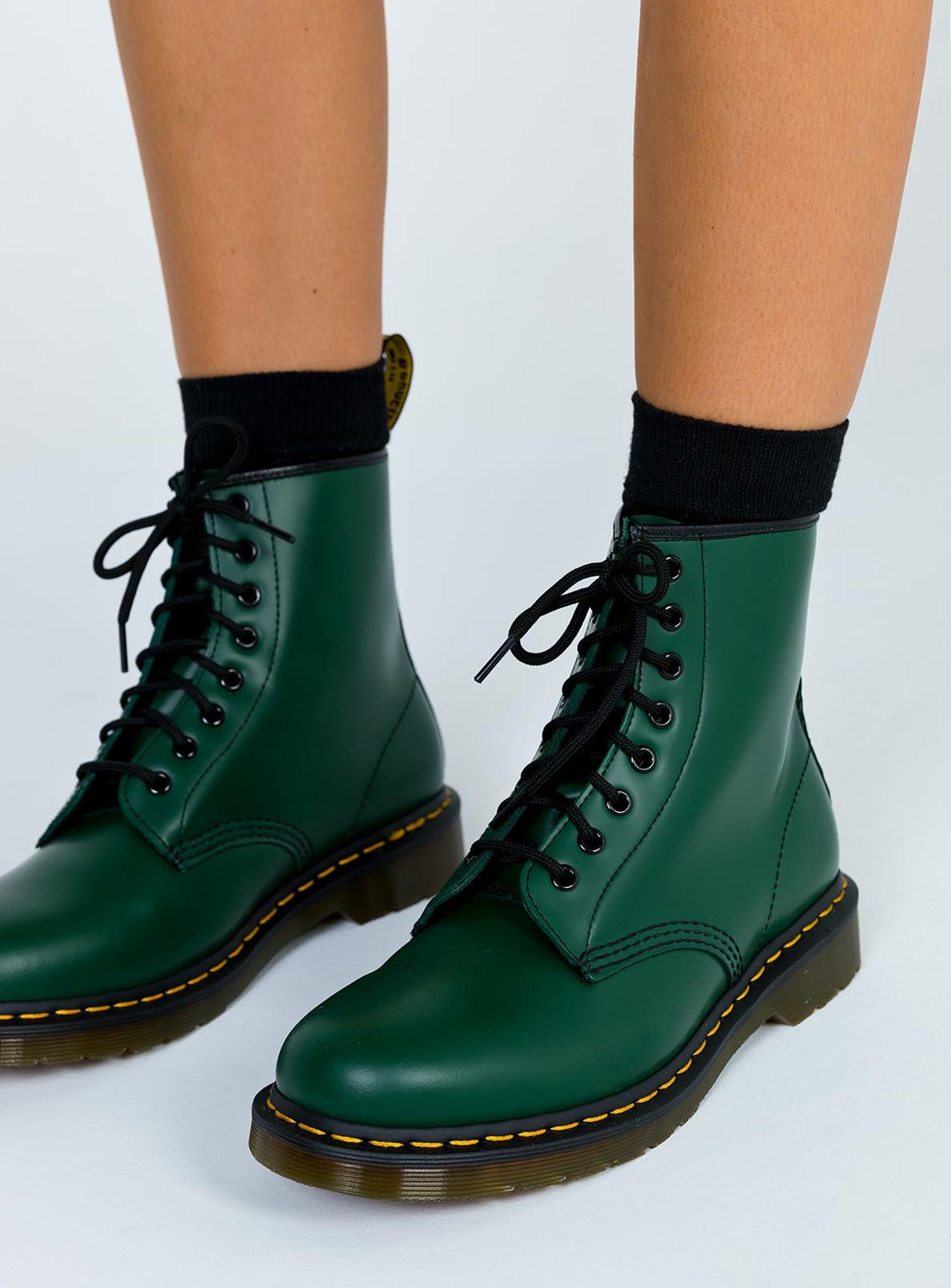 Dr. Martens 1460 Smooth Boots Green