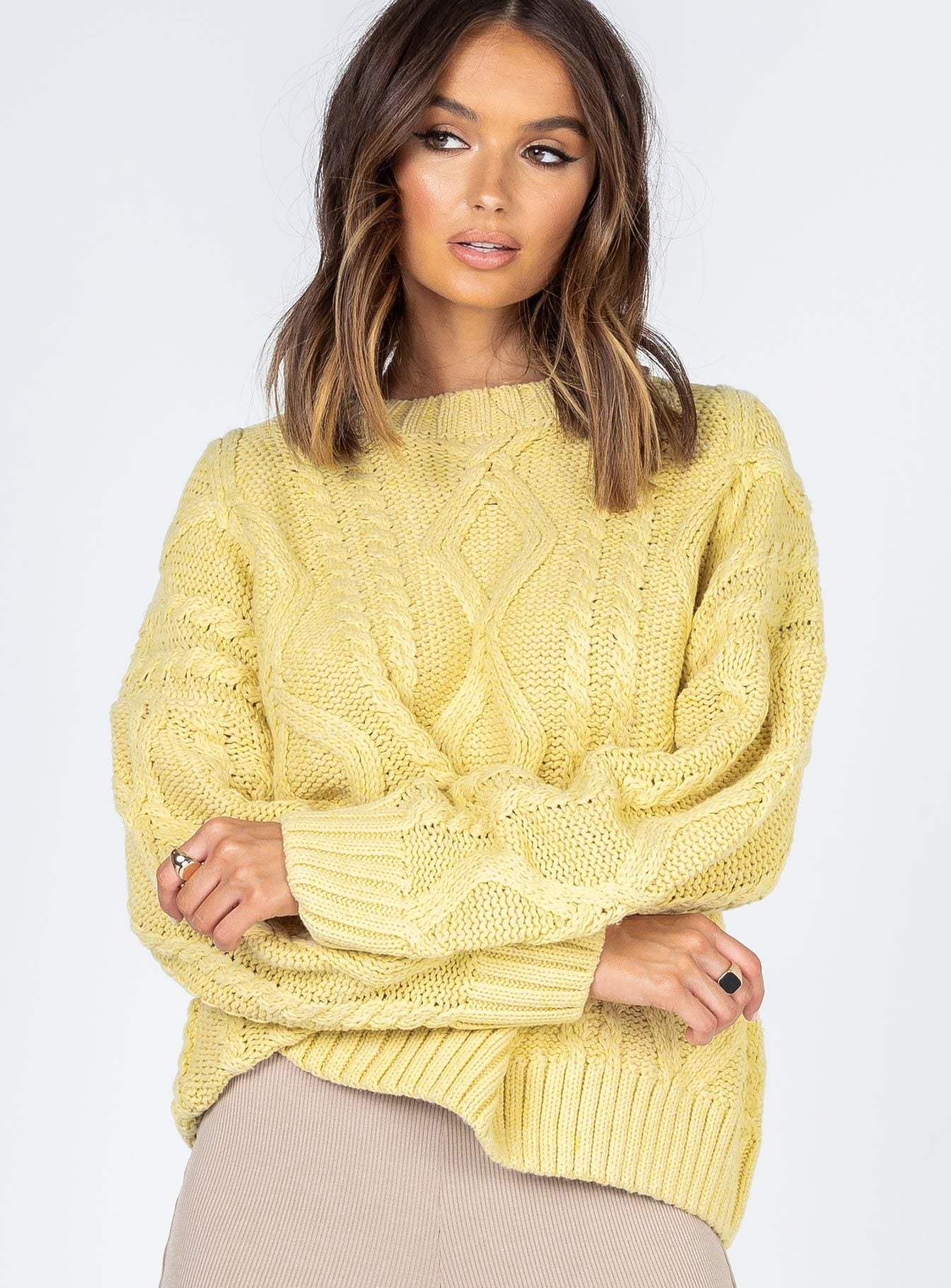 Anaya Jumper Yellow