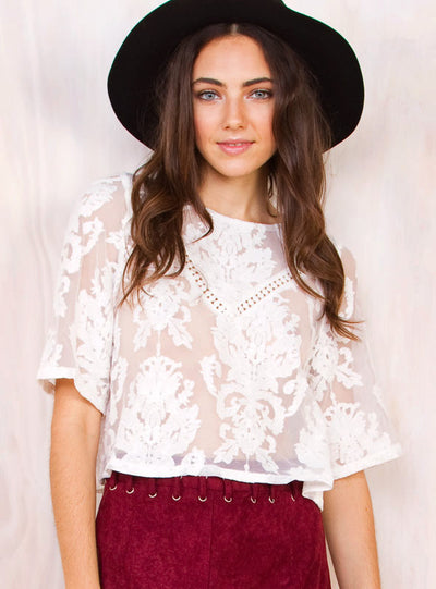 For The Love Of Lace Top