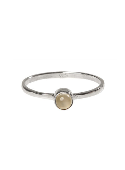 Moonstone Crossing Paths Ring