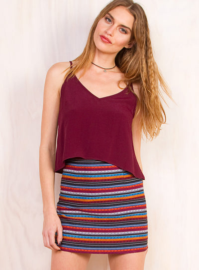 Mexican Wave Skirt