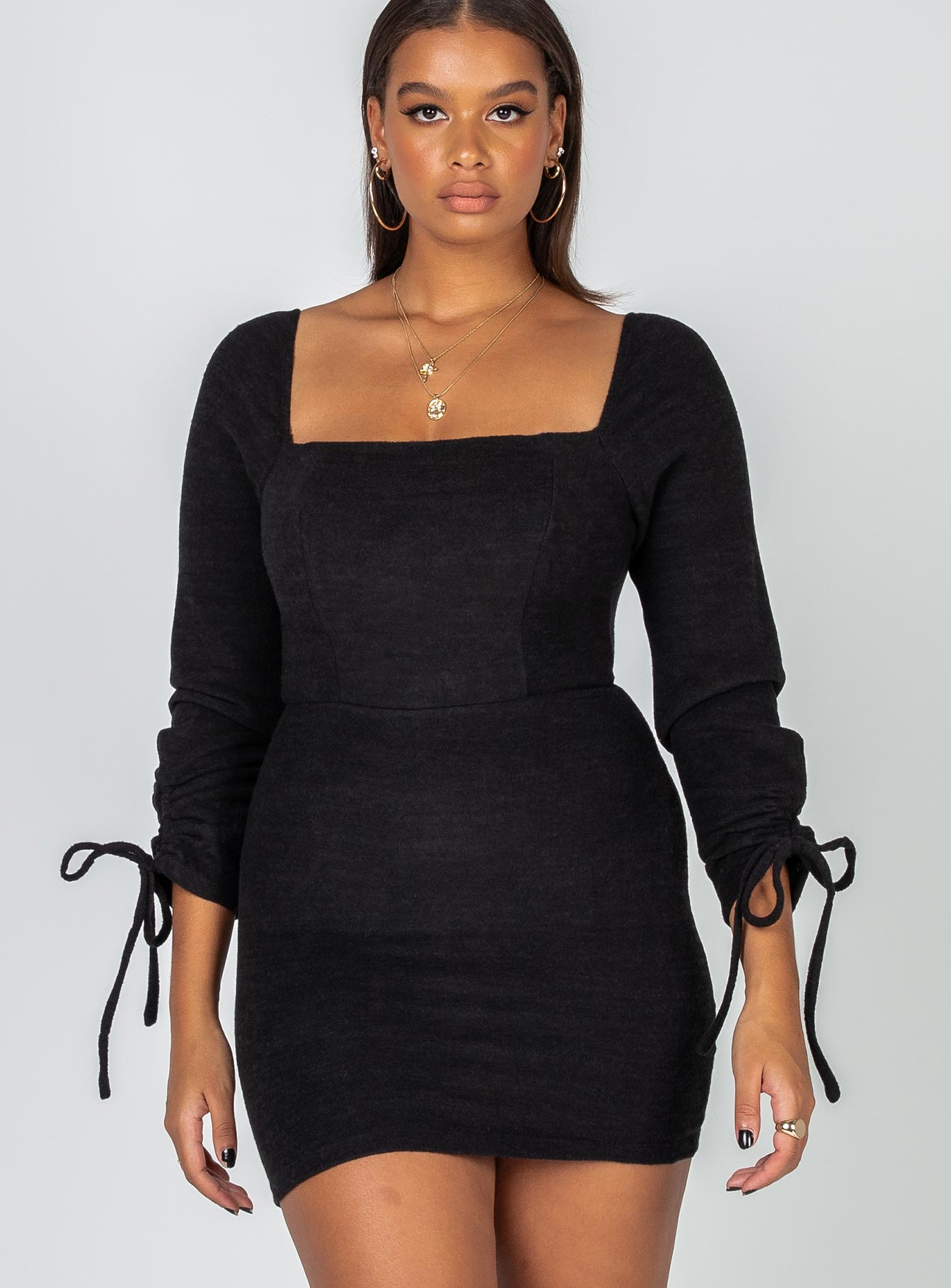 Tatiana Mini Dress Black