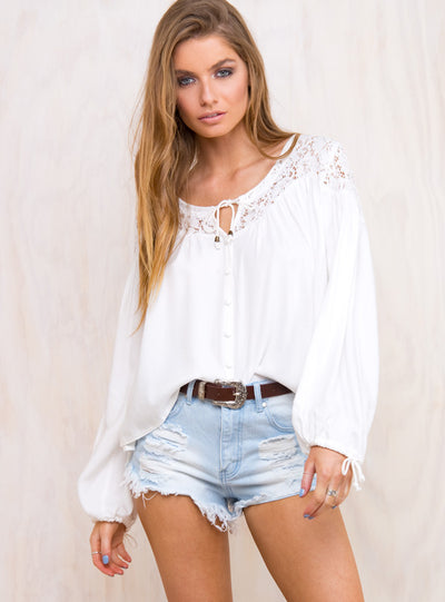 Rosie Lace Blouse
