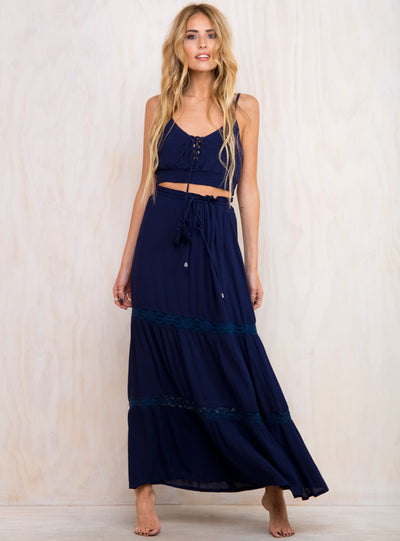 Hotel California Maxi Skirt