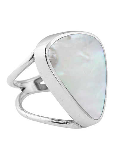Triangle Shell Ring