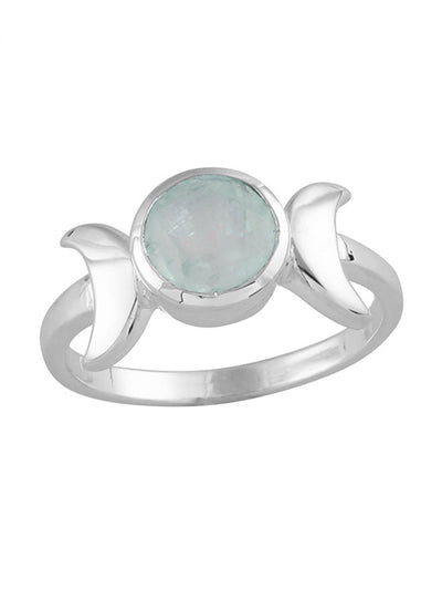 Moonstone Moons Caress Ring