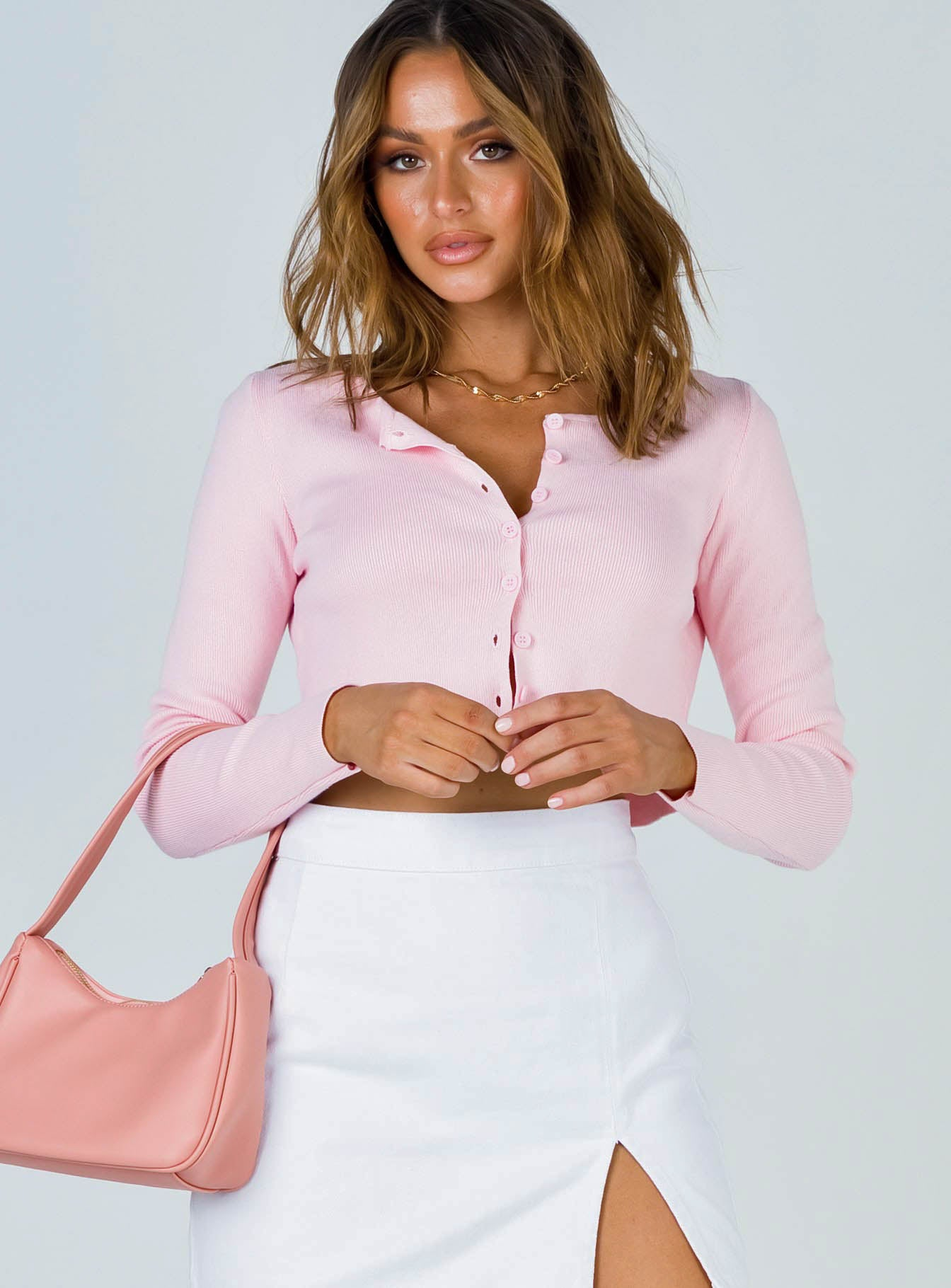 The Michael Top Pink