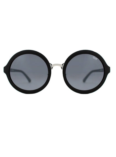 Quay Black Smoke And Mirrors Sunglasses