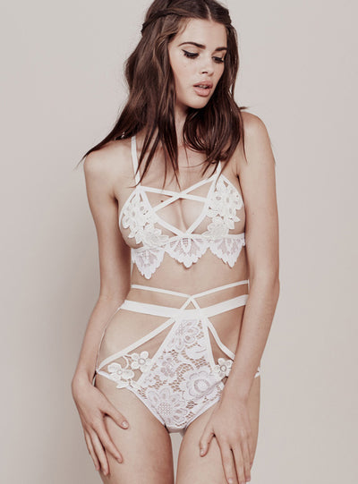 For Love & Lemons Ruby Cross Front Panty