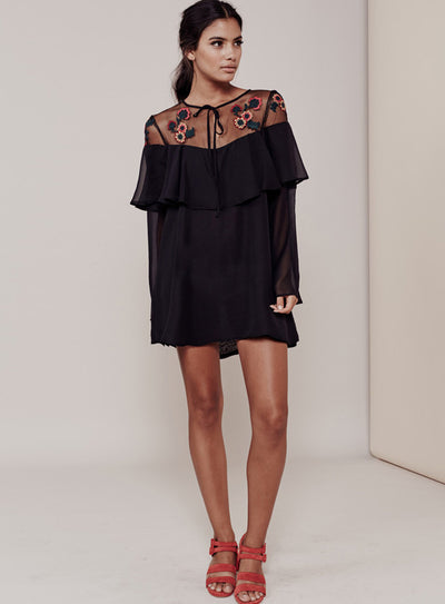 For Love & Lemons Elenora Mini Dress