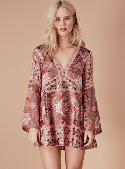 For Love & Lemons Juliet A-Line Dress
