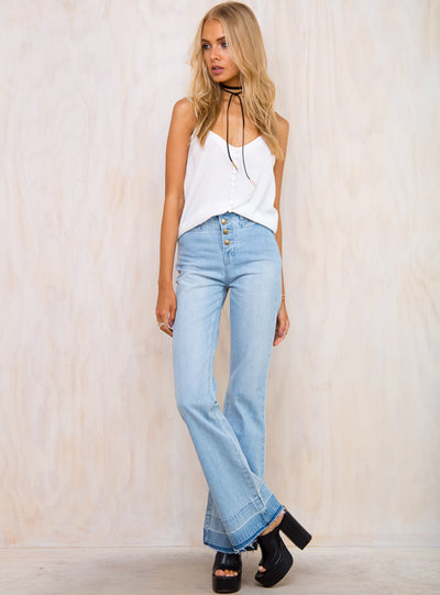 Minkpink Dig It Flare Jeans