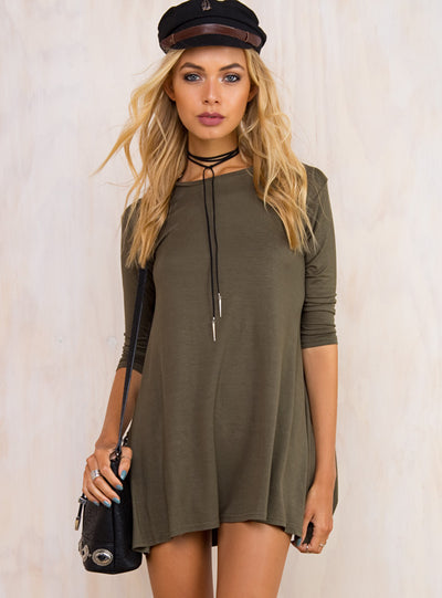 Whiskers Mini Dress
