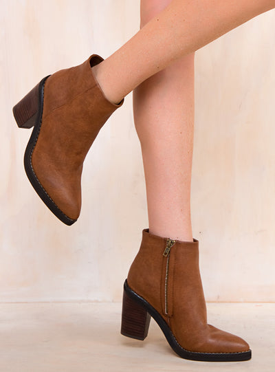 Therapy Brown Baton Boots