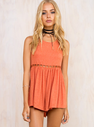 Sunset Rays Playsuit