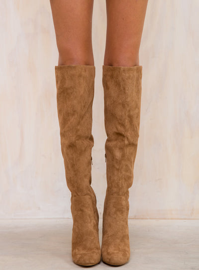 Lipstik Tan Sweep Boots